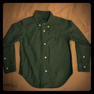2T Long sleeve button up